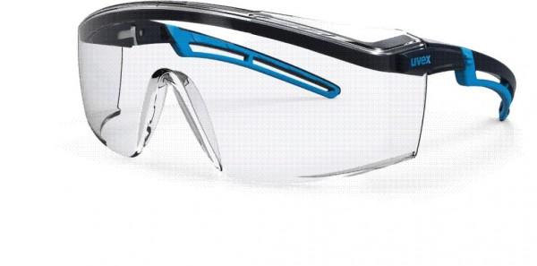 Augenschutzbrillle uvex astrospec 2.0 supravision sapphire blau/hellblau 9164.065