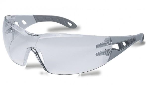 Augenschutzbrille uvex pheos supravision excellence hellgrau/grau 912.215