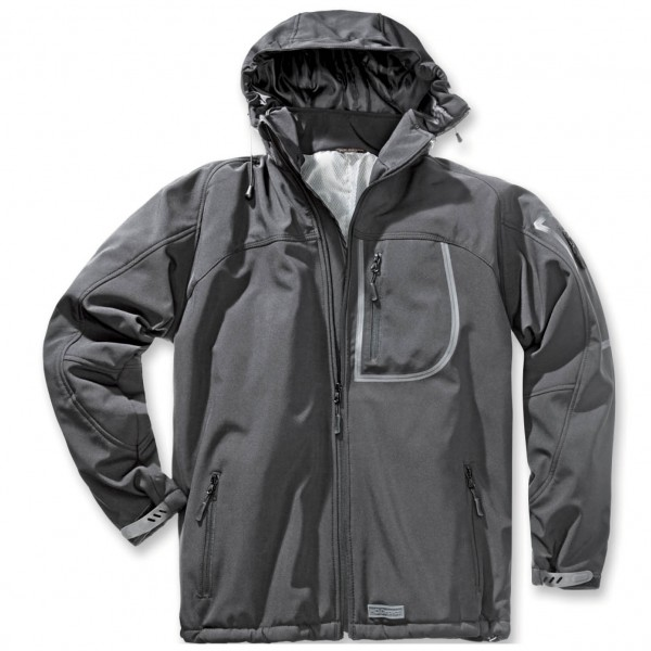 Thermo-Softshelljacke RUN anthrazit