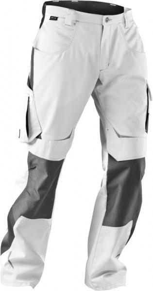 Pulsschlag Damen Bundhose High Kübler weiß-anthrazit 2124 3314-1097