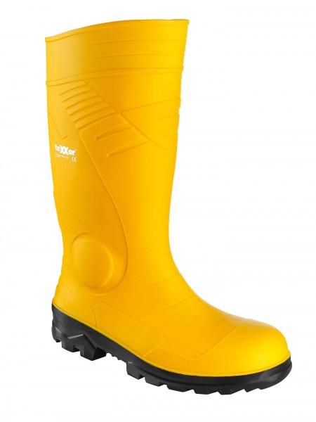 sicherheitsstiefel texxor 6510 pvc s5 src gelb gummistiefel mit stahlkappe und druchtrittschutz